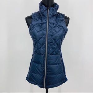 Lululemon Blue Down For A Run Vest